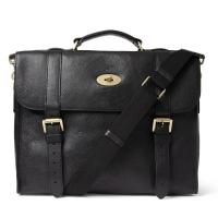 Cheap Natural Genuine Leather Bag Mens Leather Briefcase Bag With Adjustable Strap Single Handle wholesale