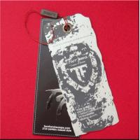 China swing tag with tea stain on sale