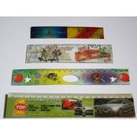 Cheap PLASTIC LENTICULAR flip lenticular printing 3D cartoon color plastic ruler for kids/back to school stationery rulers wholesale