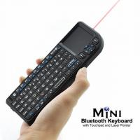Cheap Mini Bluetooth keyboard with touchpad and laser pointer wholesale