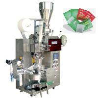 Cheap Automatic Filter Green Tea Tea Packaging Machine With Outer Envelope , SUS304 Material wholesale