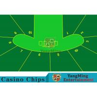 Cheap 2400*1400mm Touch Comfort Casino Table Layout Using Three Anti-Free Cloth wholesale