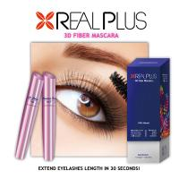Buy cheap Semi permanent mascara Highest Quality Real plus 3D Fiber Lashes Mascara from wholesalers