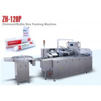 Cheap Ointment Box Auto Packing Machine for Cosmetic Package , 100 Boxes Per Min Output wholesale