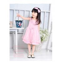 Cheap Summer personality Design polyester combo Emb fringe cute knit baby dress for stage wholesale