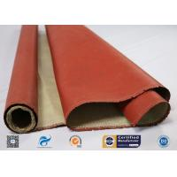 Cheap 260 ℃ Heat Resistant Insulation Silicone Coated High Silica Fabric wholesale