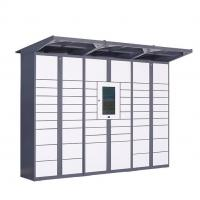 Cheap 24 Hour Outdoor Electronic Parcel Locker , Logistics Digital Parcel Locker wholesale