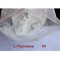 Cheap High Purity Safe Weight Loss Drug Levothyroxine T4 Powder CAS 51-48-9 wholesale