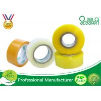 Cheap 80M Length Clear Water Resistant Bopp Adhesive Tape High Temperature wholesale