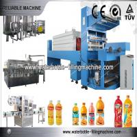 China Juice Beverage Production Line With LiquidFiller Equipment / Capping Machine on sale