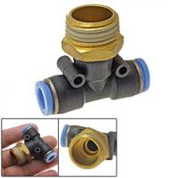 Cheap compressed air fittings Polymer push-in fitting for compressed air PU wholesale