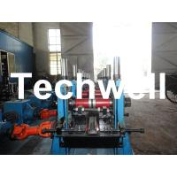 Cheap C Section Channel Roll Forming Machine with Gearbox Drive for Making Steel C Purlin wholesale