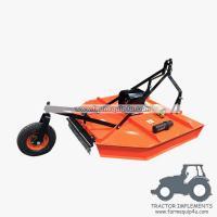 Cheap 6RCM - Tractor Mounted 3point Rotary Cut Mower with PTO Shaft driven with Real wheel wholesale