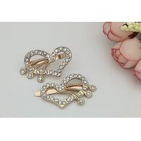 LHZ426 Heart Decorative Shoe Clips , Hardwearing DIY Shoe Clips Exquisite