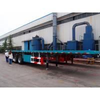 Cheap 3 axle 40ft flatbed container trailer truck -CIMC VEHICLE wholesale