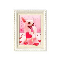 Cheap Colorful Amazing Animal 5D Pictures 12x17 Inches  0.6mm PET Material wholesale