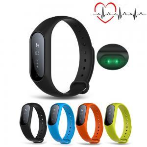 Cheap Low Power Consumption Smart Bluetooth Activity Bracelet 0.87 Inch Button / APP Control wholesale