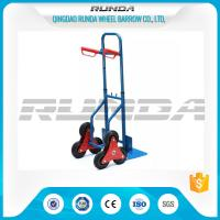 Cheap Telescopic Heavy Duty Hand Trolley Double Wheels Powder Coating Steel Tube 200kg wholesale