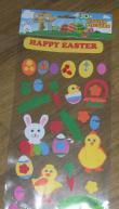 3D easter stickers