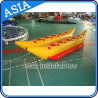 Cheap Water Games Inflatable Boats Double Tubes Flying Fish Inflatable Banana Boat for sale