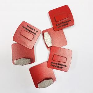 Cheap Floor Concrete 13mm Diamond Abrasive Block With Hexagon Segments wholesale