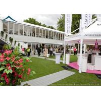 Commercial  Double Deck Outdoor Event Tents With Central Air-Conditioning