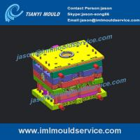 Cheap 1000g thin wall ice-cream containers and lids mould, thin walls Ice Bucket Lids mould wholesale