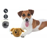 Cheap Small Bouncy Dog Entertainment Toys , Cool Plastic Dog Throw Toys For Dog Playing wholesale