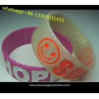 Cheap Custom Logo Promotion Gift Adjustable Silicon Wristband, Silicon Bracelet wholesale