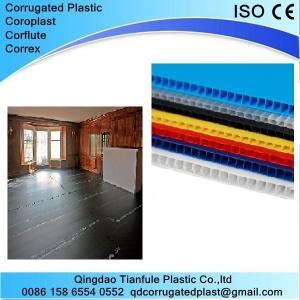 Cheap 2440×1220mm Black Plastic Corflute Sheet wholesale