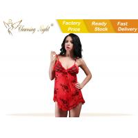 Print Nice Fantasy Womens Sexy Lingerie Underwear , Honeymoon Sexy Sleepwear