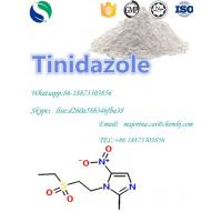 Cheap Tinidazole Antibiotic Antitrichomonal Anti - Parasitic Antibacterial Infections Treatment White Powder CAS19387-91-8 wholesale