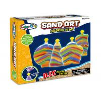 Cheap Colorful Glitter Sand Arts And Crafts Toys For Kids Age 5 W / 4 Bottles wholesale