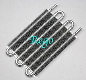 Cheap Universal Aluminum Transmission Oil Cooler Kit Auto Manual Radiator Converter wholesale