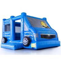 Cheap Motor Vehicle Inflatable Jumpers Commercial 0.55mm Pvc Moon Bounce House wholesale