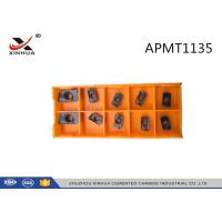 Cheap Indexable Tooling Milling Inserts Face Mill APMT1135 For CNC Tool Milling Cutter wholesale