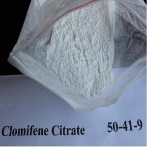 Cheap Serm Anti Estrogen Steroids Powder Clomifene Citrate Clomid CAS 50-41-9 wholesale