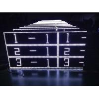 Cheap Outdoor White Scrolling Led Sign Cabinet For Advertising AC220V / 110V wholesale