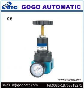 China High Pressure Air Regulator With Pressure Gauge Inlet Port Thread 1/2 Inch BSP on sale