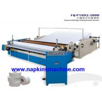 Cheap Custom Printed Toilet Paper Roll Cutting Machine With Embossing System wholesale
