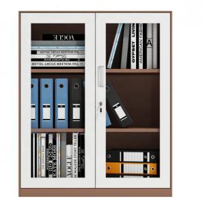 Cheap Hot Sale Cheap Glass Door Steel Office Furniture A4 2 Glass Door File Filing Cabinet wholesale