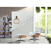 Cheap Genuine Leather Eames Hotel Lounge Chairs And Ottoman Contemporary Design Of Simplicity wholesale