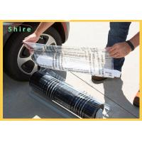 Cheap Break Point Adhesive PE Protection Film For Auto Carpet Easy Peel Off wholesale