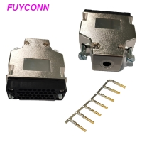 Cheap Female V.35 Crimping Type Router Connector With L Shape Plastic Case wholesale