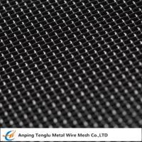 Cheap Mild Steel Wire Mesh|Square Hole Woven Mesh Known as Black Cloth wholesale