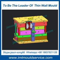 Buy cheap The highest quality thin wall plastic cup injection mould, IML thin wall from wholesalers