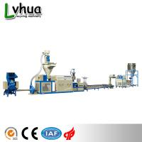 Cheap Blue Color PP Plastic Recycling Machine Automatic Loading For Dry Clean Film wholesale