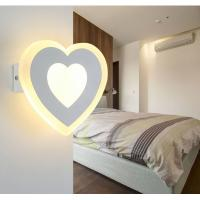 Cheap Matt white Acrylic LED wall lights /inside led wall lamps for hotel rooms wholesale