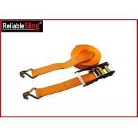 Buy cheap 50mm Width Heavy Duty Cargo Straps Ratchet Lashing Belt with 4 Ton B.S. from wholesalers