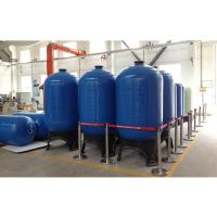 Cheap Top open 2.5 NPSM FRP Pressure Tanks for reverse osmosis water treatment wholesale